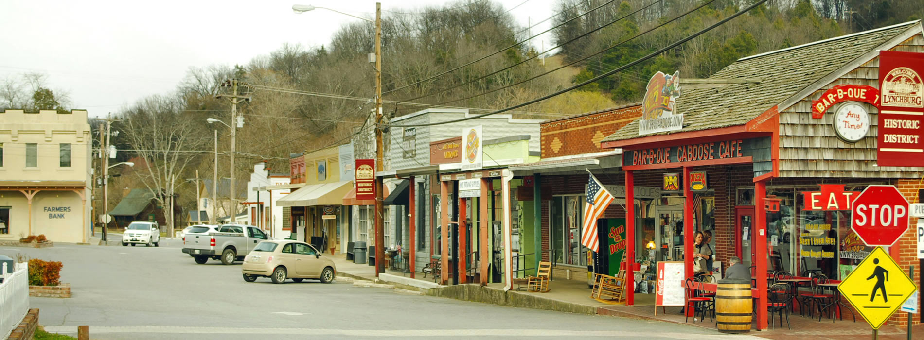 lynchburg TN old town main street